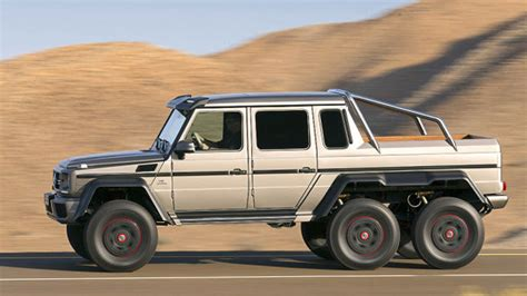 mercedes truck 6x6 of auto enthusiasts unveiled 2014 mercedes 6x6 g63amg