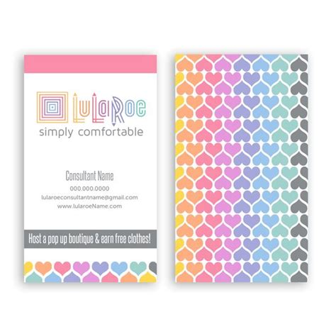 lula roe business card template lularoe business card design template with lula roe