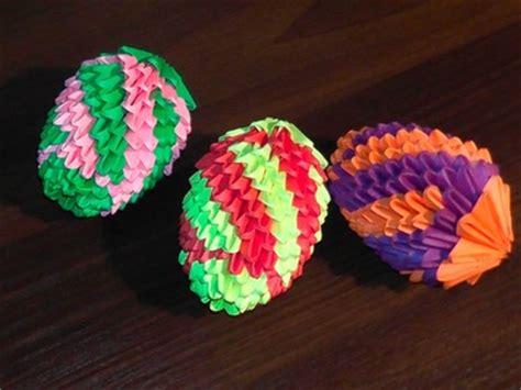 3d origami egg tutorial origami origami aelita kusudama ruota corona 8 pezzi