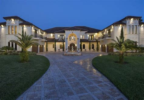 mansion home designs 11 000 square foot mediterranean mansion in winter garden
