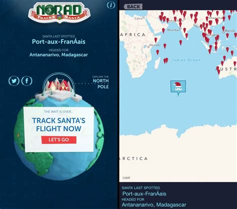 Norad Santa Tracker Phone Number Where S Santa The 2014 Santa Tracker Review From Norad