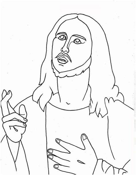 jesus christ coloring pages kids coloring pages