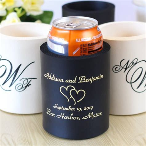 Wedding Koozies by Personalized Wedding Koozie