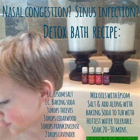 Detox Bath For Chest Cold by Nasal Congestion Sinus Infection Detox Bath Home