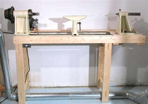 wood lathe bench plans  woodworking
