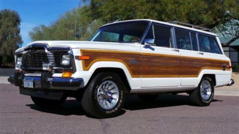 1984 Jeep Wagoneer 1984 Jeep Grand Wagoneer Base Sport Utility 4 Door 5 9l