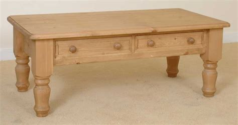 small pine coffee table with drawer pine coffee table with drawers large antique english pine