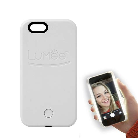 Lumee Light Iphone 5 5s lumee light for iphone 6 6s white