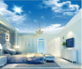 Cloud Wall Mural cool ceiling sky and clouds wall mural with hd windows wallpaper full