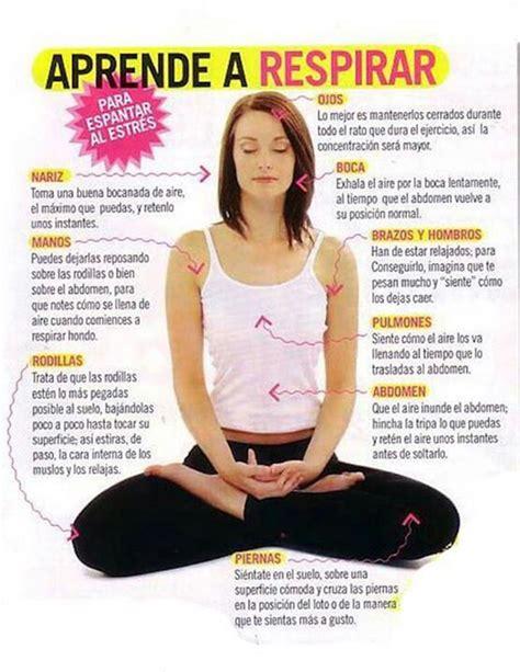 imagenes de respiracion yoga aprende a respirar para aliviar el estr 233 s infograf 237 as y