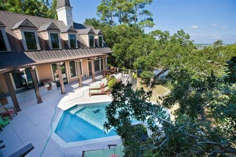 Luxury Estate Secluded Folly Beach Home With Vrbo House Rentals In Folly Sc