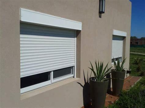 persianas enrollables aluminio persiana con cajon exterior color blanca obras