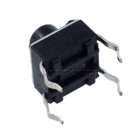 Tact Switch 6x6x6 Mm Saklar Kecil Micro On Tactile 4 Pin 100pcs miniature micro touch push button switch momentary tactile tact 6x6x6 mm ebay