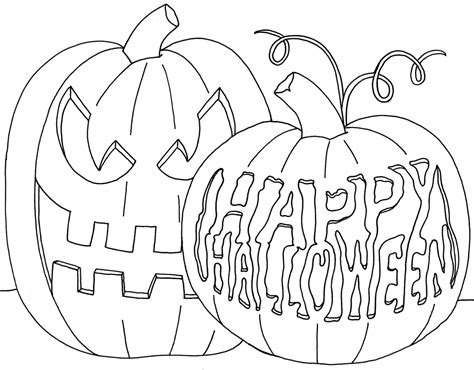 happy halloween coloring pages glum me
