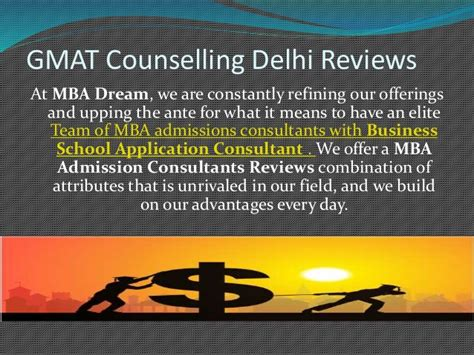 Mba In Consultancy Management Bits Pilani Review by Admission Consultants In India For Gmat The B School