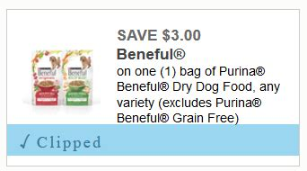 walmart possible free free purina dog food after petsmart high value 3 off one bag of purina beneful dry dog food