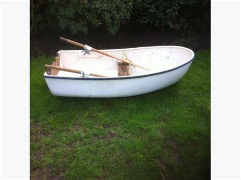 small boat oars small fibreglass row boat w oars central saanich victoria