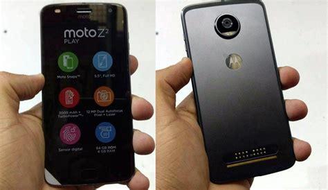 Moto Z2 Play Gold 64gb 4gb Garansi Resmi moto z2 play retail box live images and press