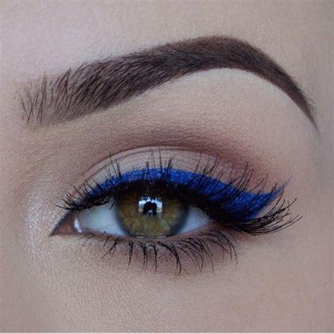 Eyeshadow Biru Tua ide tren make up terbaru quot eyeliner warna quot dan tips untuk memakainya spice