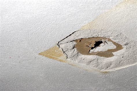 How Do I Repair This Hole In My Ceiling Home How To Patch A In The Ceiling