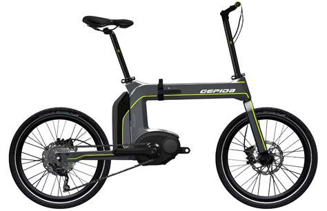 best foldable electric bike gepida miliare folding bosch electric bike