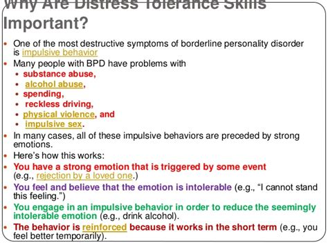 when your has bpd essential skills to help families manage borderline personality disorder books learning distress tolerance skills for borderline
