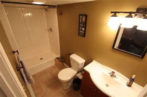 putting a bathroom in a basement basement bathroom bathroom boston by almar building