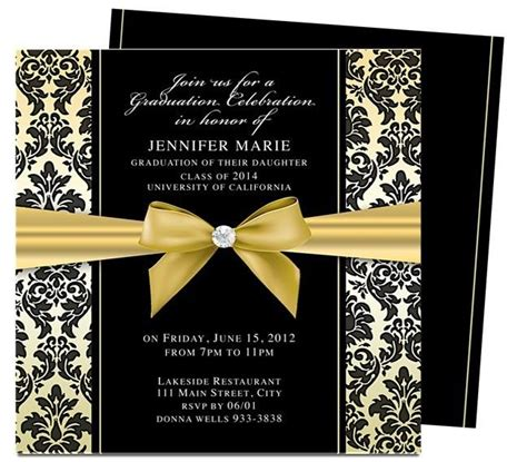 Graduation Invitations Templates Madinbelgrade Diy Graduation Announcements Templates Free