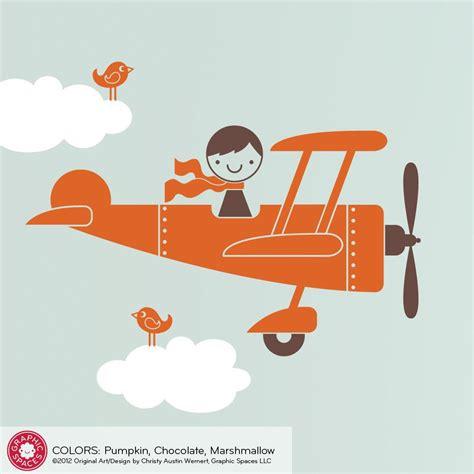 airplane wall decals for nursery airplane boy wall decal baby nursery airplane room