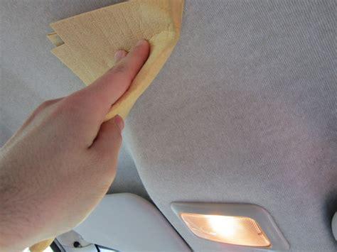 rifare interni auto rivestimento tetto auto come pulirlo senza fare danni
