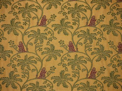 palm tree upholstery fabric lee jofa congo weave canary monkey palm tree upholstery