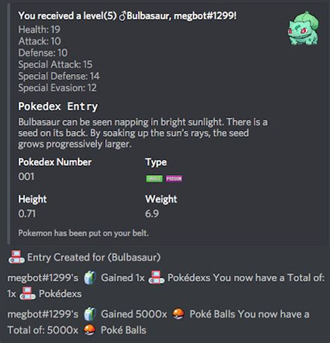 discord rpg bot this discord bot turns pok 233 mon into a text based adventure