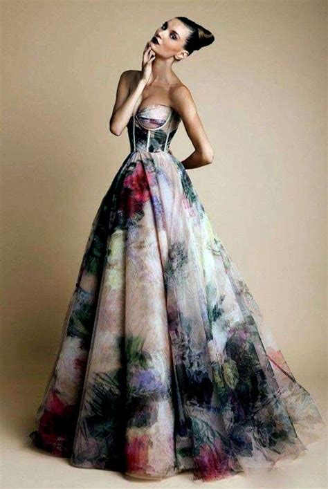 colorful dresses colourful wedding dress unconventional dress wedding