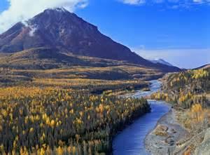 Mat Su by Mat Su Valley Fall King Mountain Matanuska River