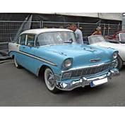 1956 Chevrolet Bel Air 4 Door Sedan Frontjpg  Wikimedia Commons