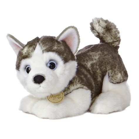 puppy stuffed animals realistic stuffed siberian husky puppy 10 inch plush by