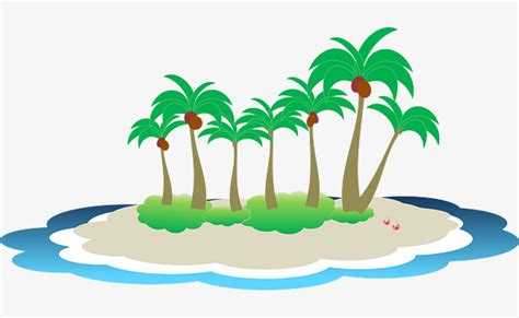 island clip tropical island clipart png vector clipart
