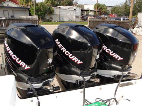 used 4 stroke outboard motors for sale usa sell triple 2006 mercury 275 hp verado 4 stroke outboard