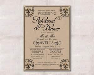 wedding rehearsal dinner invitation custom printable 5x7 2274280 weddbook
