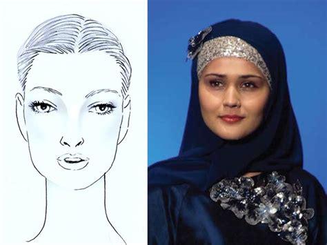 tutorial pashmina wajah persegi penggunaan hijab sesuai bentuk wajah tutorial pashmina