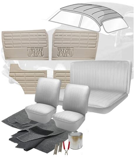 vw upholstery kits 1970 vw karmann ghia interior kits jbugs