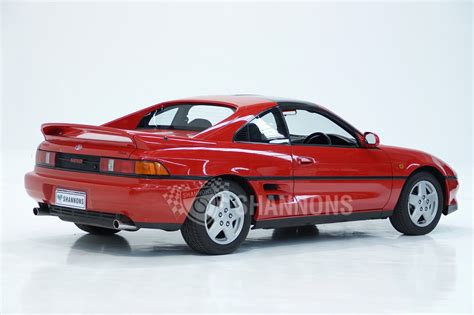 how cars engines work 1992 toyota mr2 lane departure warning sold toyota mr2 targa coupe auctions lot 34 shannons