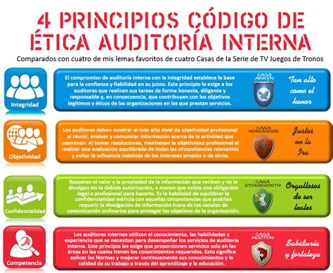 auditor interno nahun frett 4 principios c 243 digo de 201 tica auditor 237 a interna