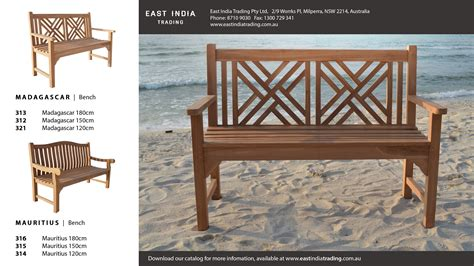 garden benches sydney east india trading australia s premium wholesaler of