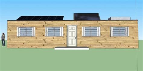 Self Sufficient Cabin Kits by Grid Cabin