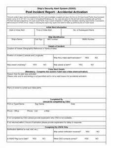 best photos of security officer incident report template
