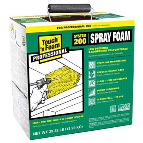 Foam Home Depot by Touch N Foam 200 Board Foot Polyurethane 2 Component