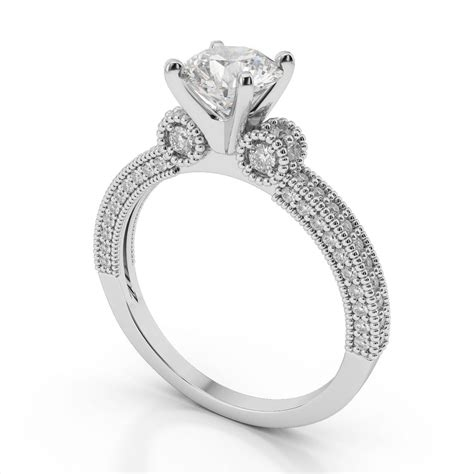 Wedding Ring Settings by 15 Inspirations Of Vintage Wedding Rings Settings