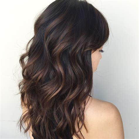 what is in style in highlight cool 65 phenomenal dark hair with highlights flattering