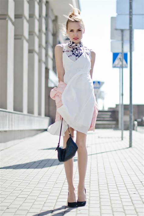 gorgeous white dress outfit ideas  spring summer